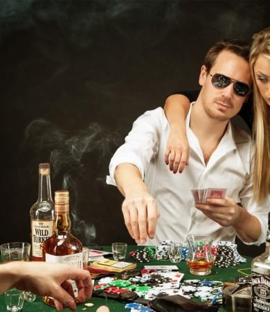 Das Poker Shooting