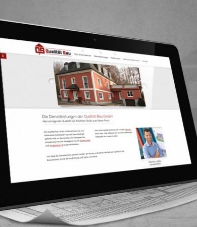 Website Design und Coding Projekt für lokales Bauunternehmen aus Mattsee