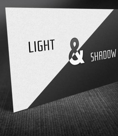 Logo-Entwicklung und Visitenkarten für Fotograf