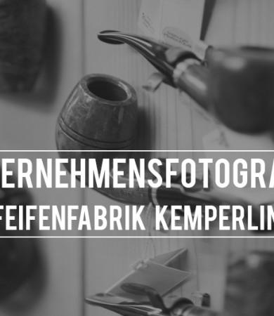 Freie Unternehmensfotografie für Pfeifenfabrik Kemperling