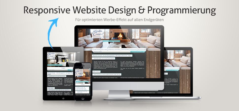 Webkonzeption Leistungen