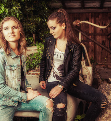 Lost-Place-Shooting mit Hana und Tanja