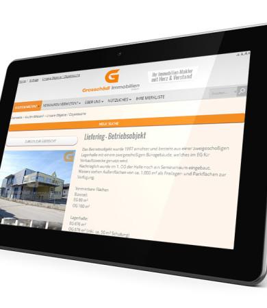 Responsive Website für Salzburger Immobilien-Makler