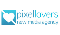 Logo pixellovers new media agency