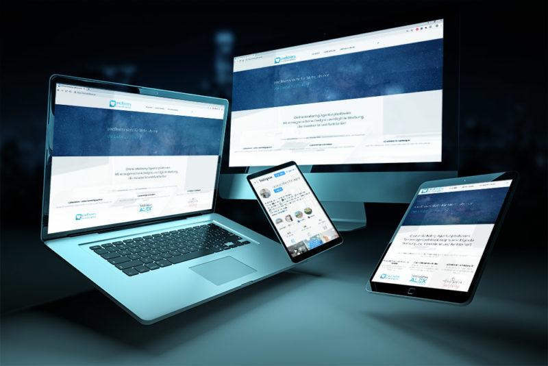Responsive Webdesign für verschiedene Geräte